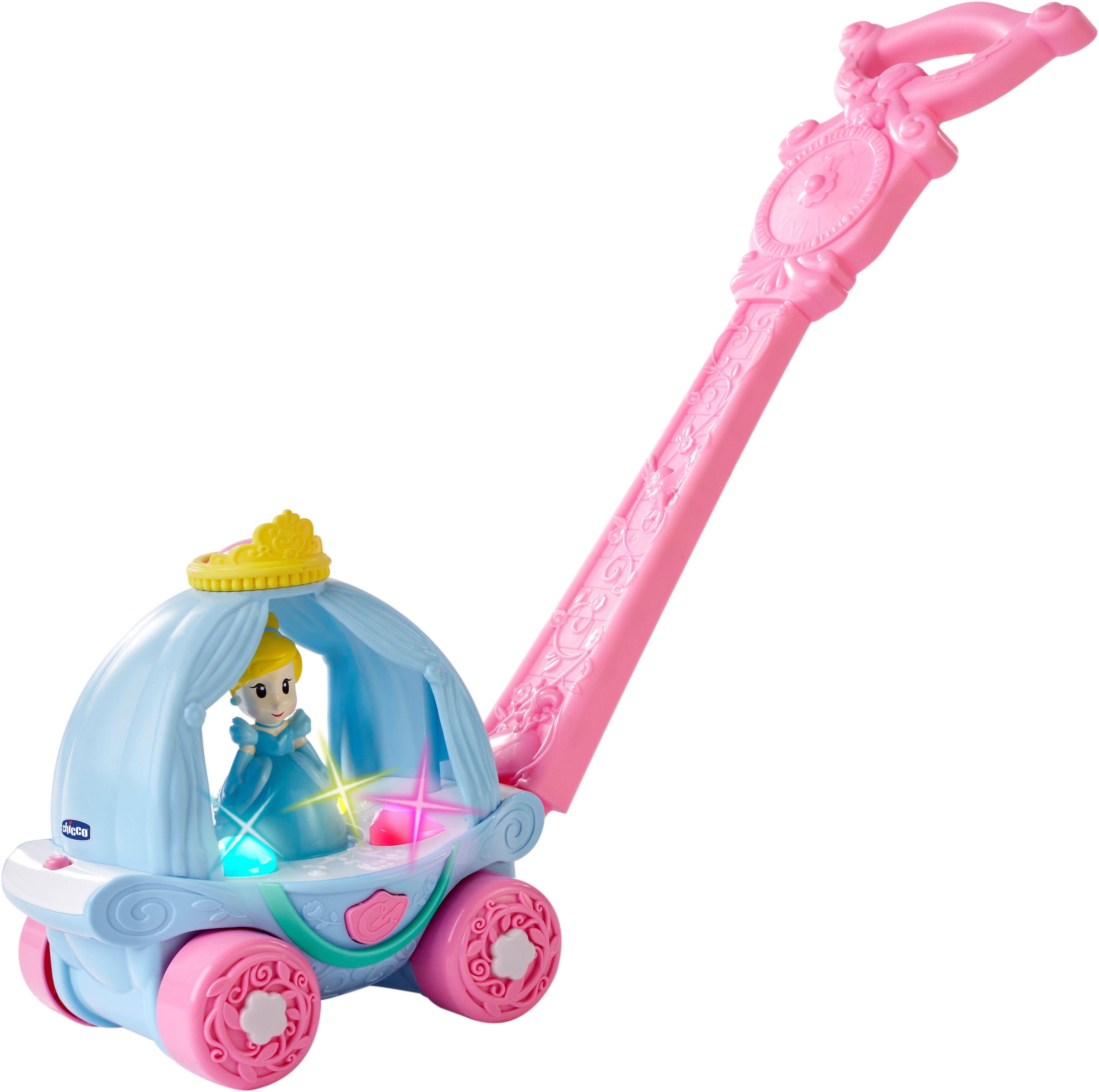 Chicco® Schiebespielzeug m. Licht u. Soundfunktion, »Disney Princess Cinderella Kutsche«