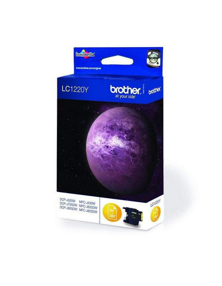 Brother Tintenpatrone »Tintenpatrone LC-1220Y« in keine Farbe
