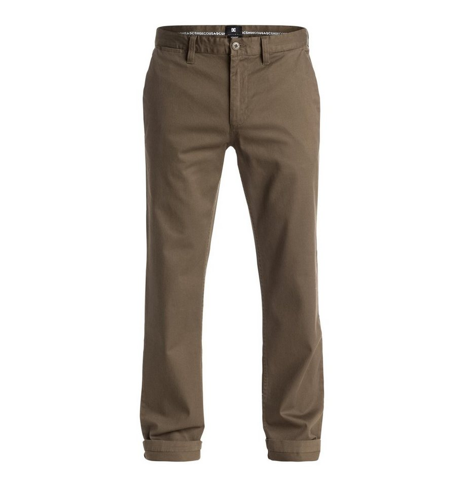 DC Shoes hose »Worker Straight Fit Chino 32« in Brindle