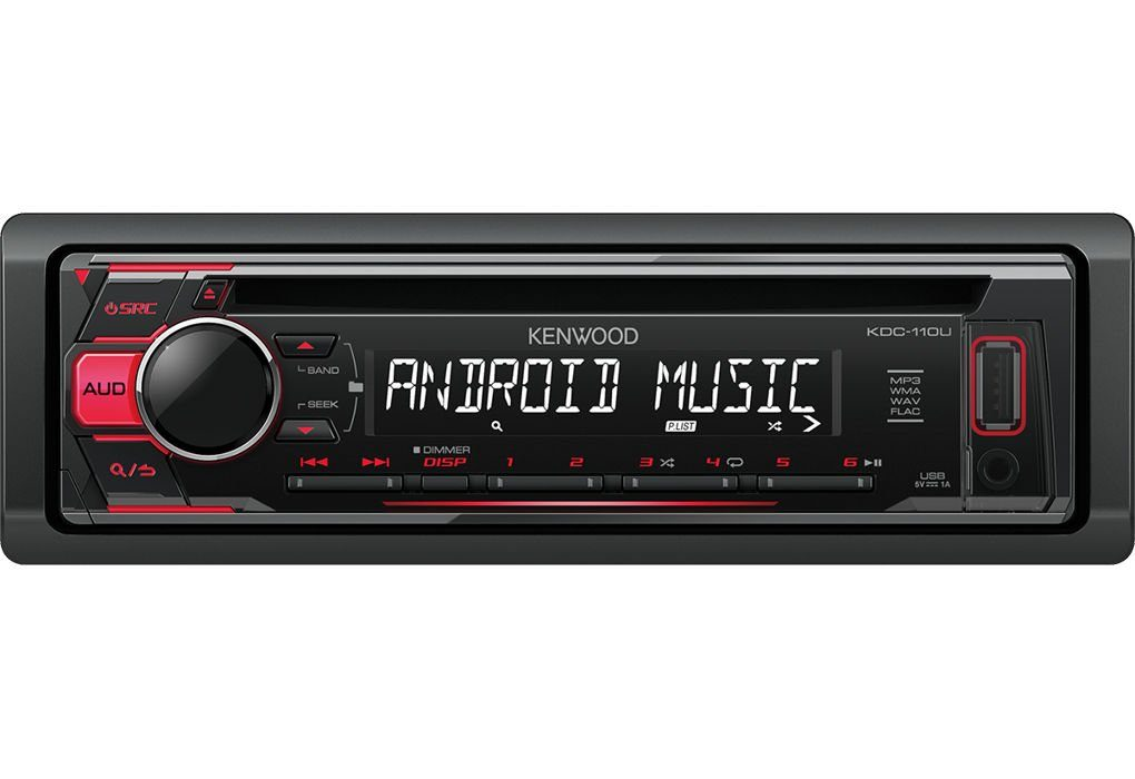 Kenwood 1 DIN Digitalautoradio »KDC-110UR«