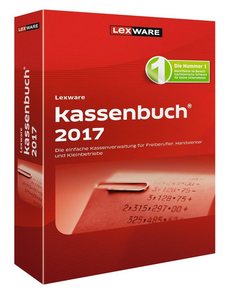 Lexware Kassenbuch-Software »kassenbuch 2017«