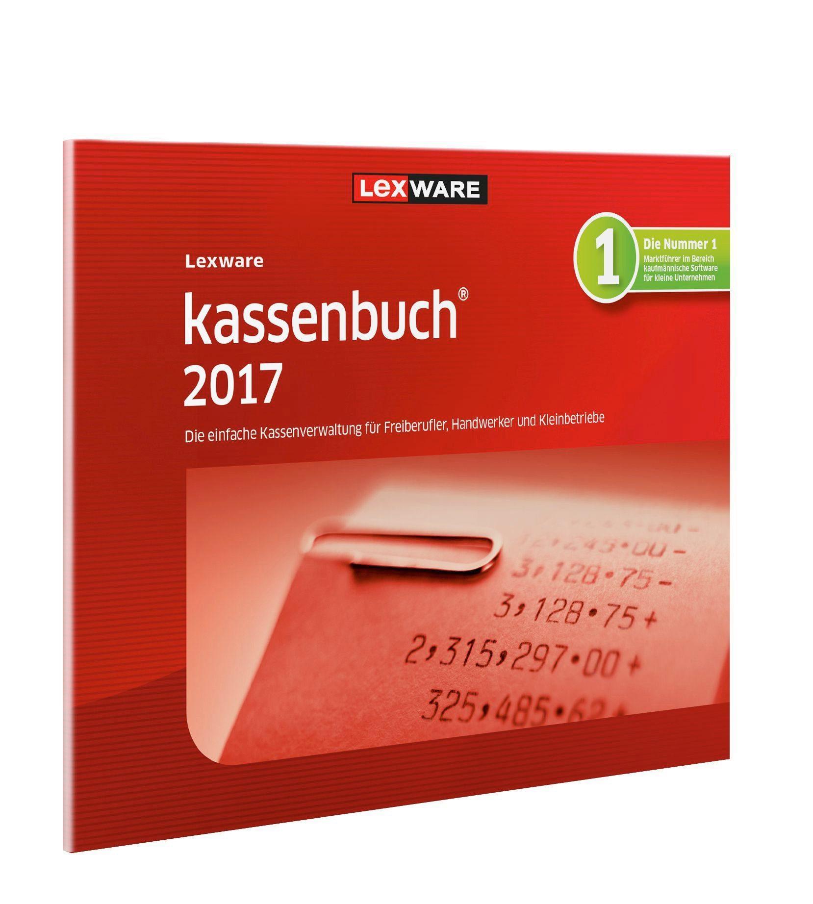 Lexware Kassenbuch-Software »kassenbuch 2017, FFP«