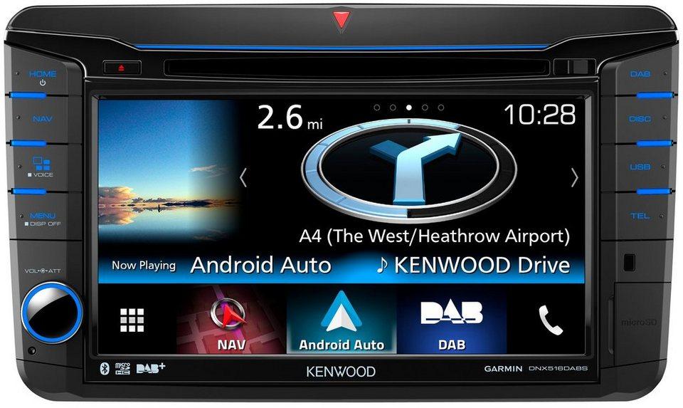 Kenwood 2 DIN Navigation »DNX516DAB« in schwarz