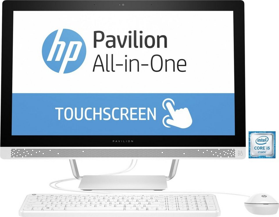 "HP Pavilion 24-b157ng All-in-One PC »Intel Core i5, 60,45cm (23,8""), 1TB SSHD, 8GB« in weiß"