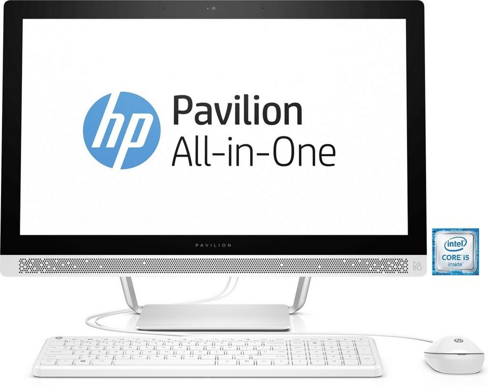 "HP Pavilion 24-b153ng All-in-One PC »Intel Core i5, 60,45cm (23,8""), 1TB + 128GB, 8GB« in weiß"