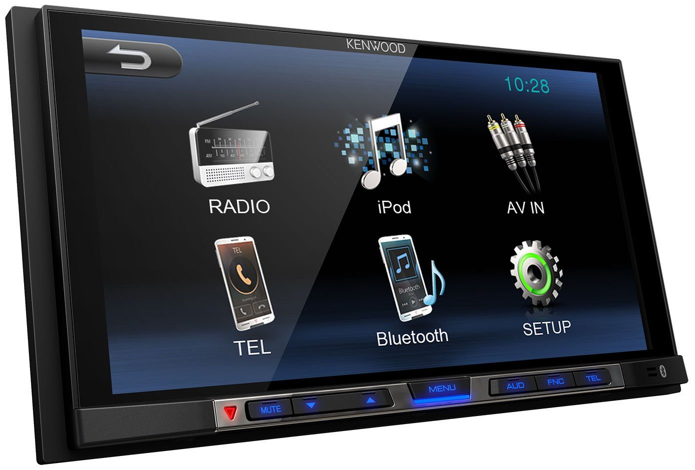 Kenwood 2 DIN Moniceiver mit Bluetooth »DMX100BT«