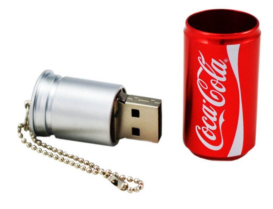 COCA COLA USB-Speicher »Coke Can USB Drive 2.0« in rot