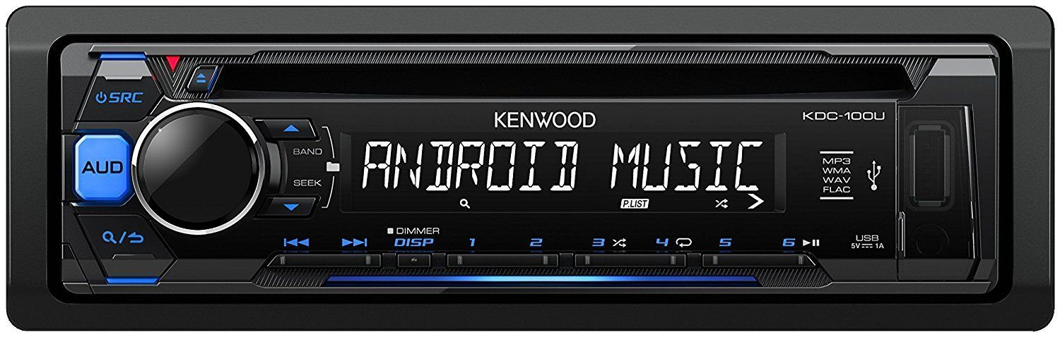 Kenwood 1 DIN Digitalautoradio »KDC-110UB«