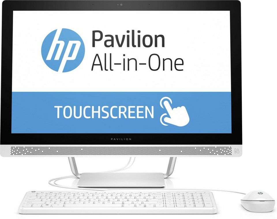 "HP Pavilion 24-b152ng All-in-One »Intel Core i5, 60,4cm (23,8""), 1TB+128GB SSD, 16GB« in weiß"