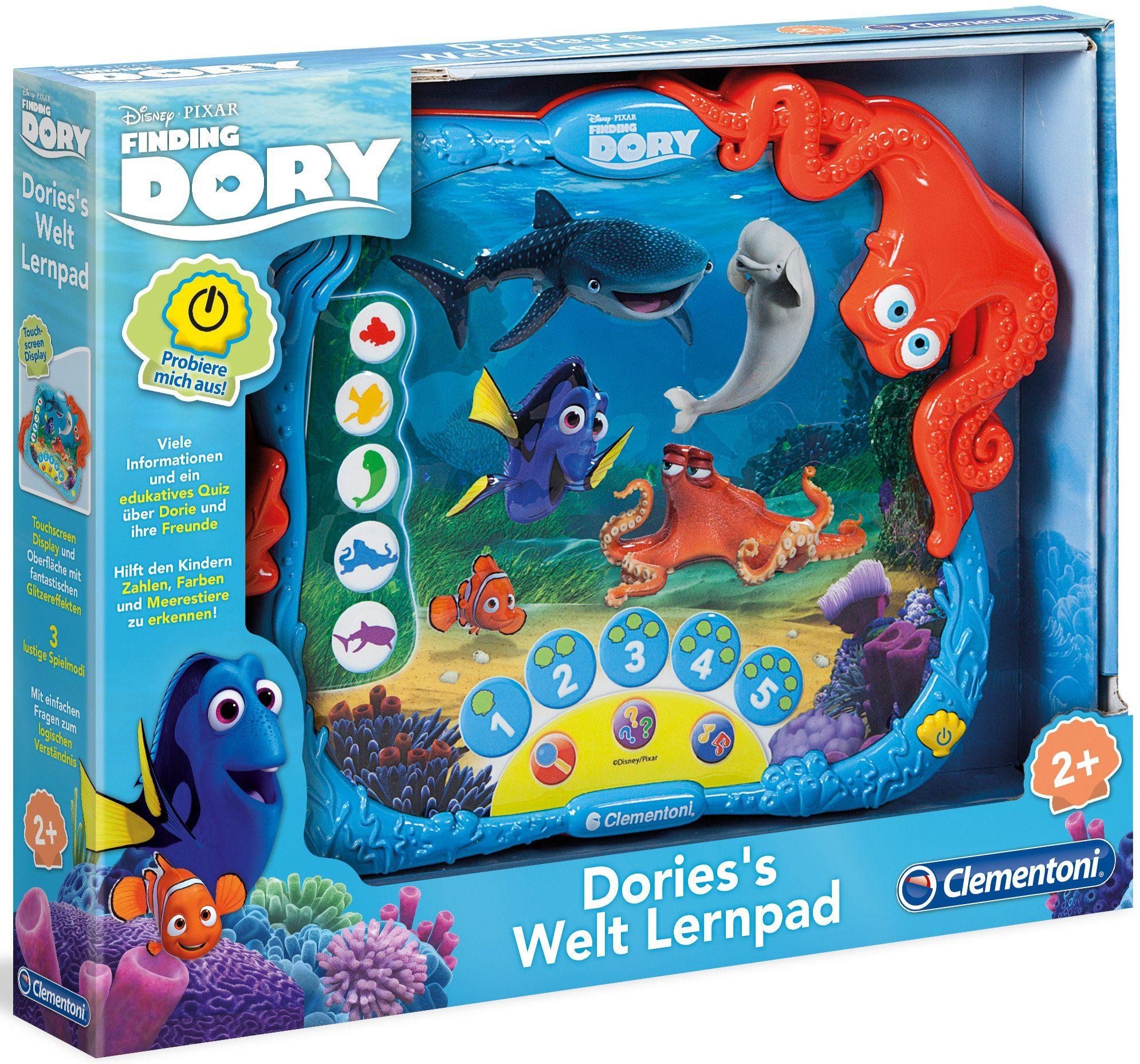 Clementoni Elektronisches Lernspiel, »Disney Pixar Finding Dory, Dorie´s Welt Lernpad«