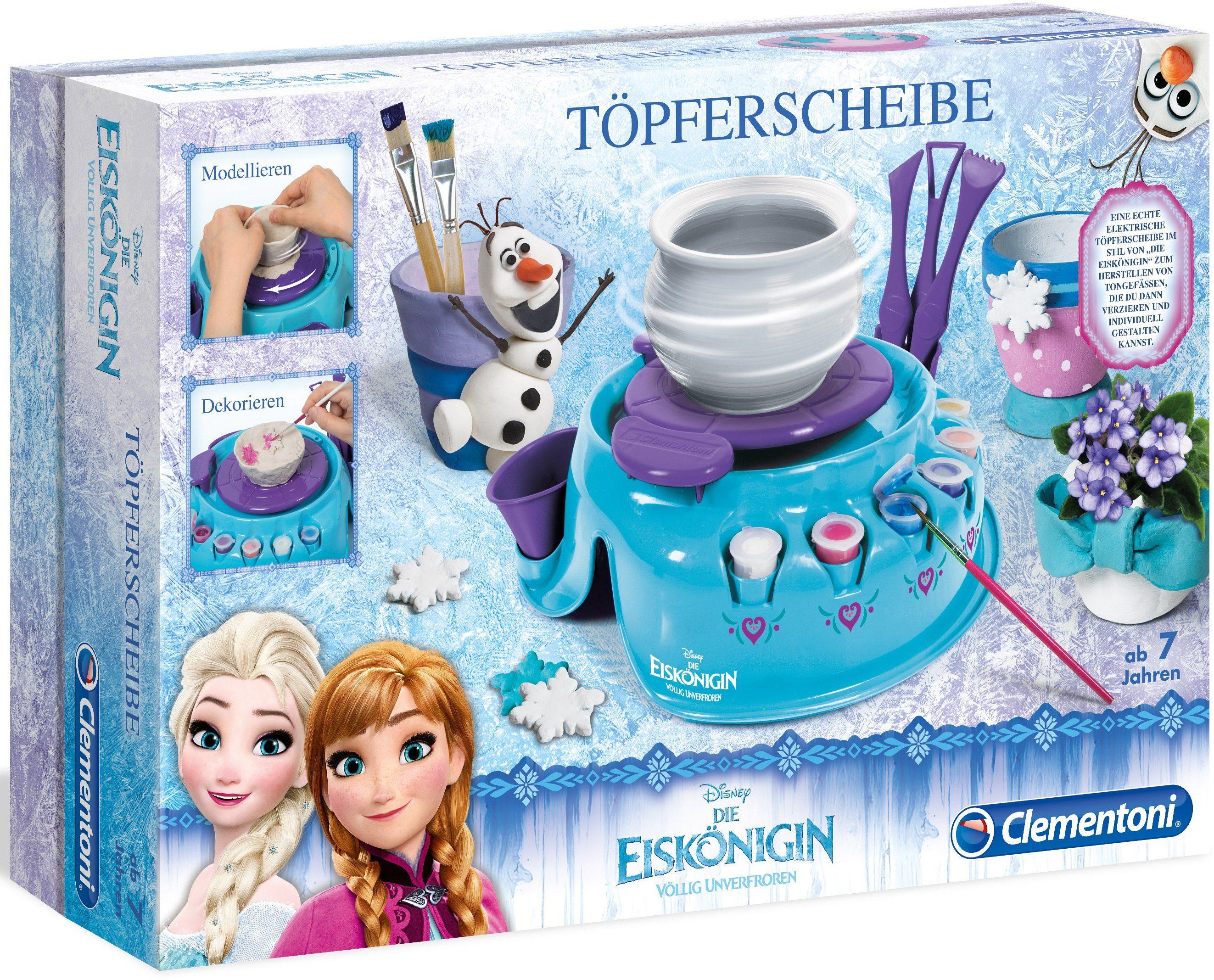 Clementoni Kreativset, »Disney Frozen Töpferscheibe«