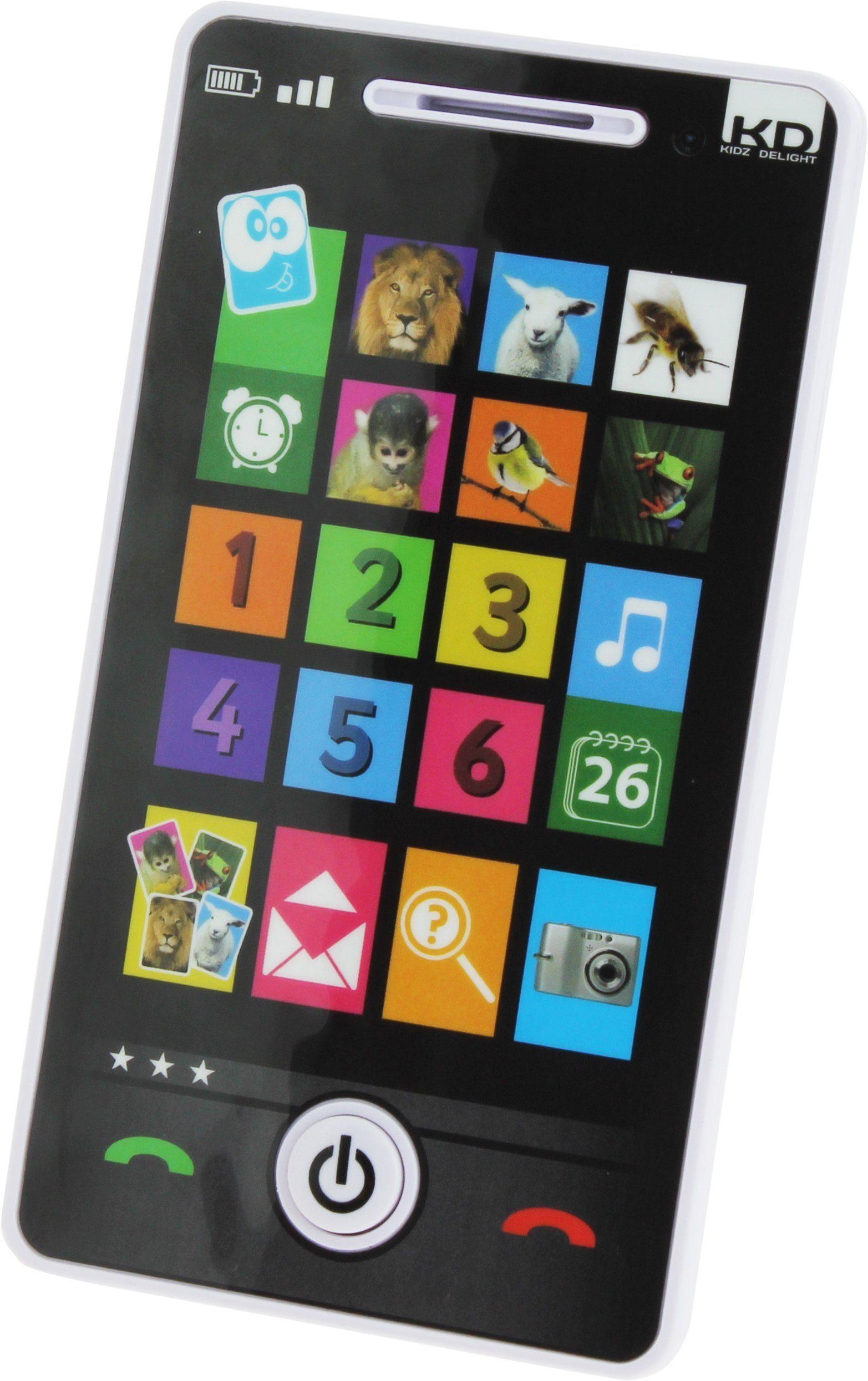 KD Kidz Delight, Spielzeug Handy mit Sound, »Tech Too Mein Smartphone«