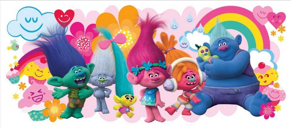 Popular joy toy wandtattoo dreamworks trolls riesenwandsticker rosa Naliyah Pinterest