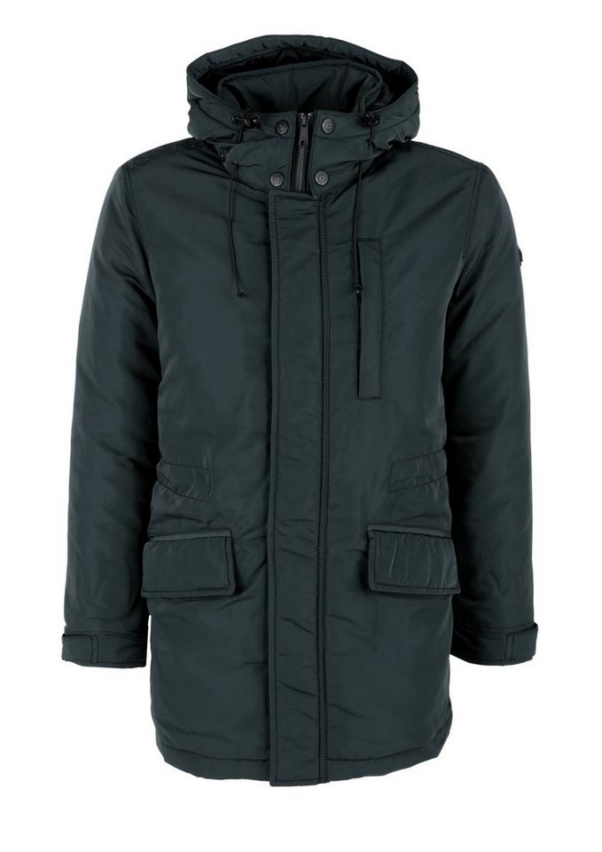 s.Oliver RED LABEL Warme Winterjacke mit Thermore in petrol