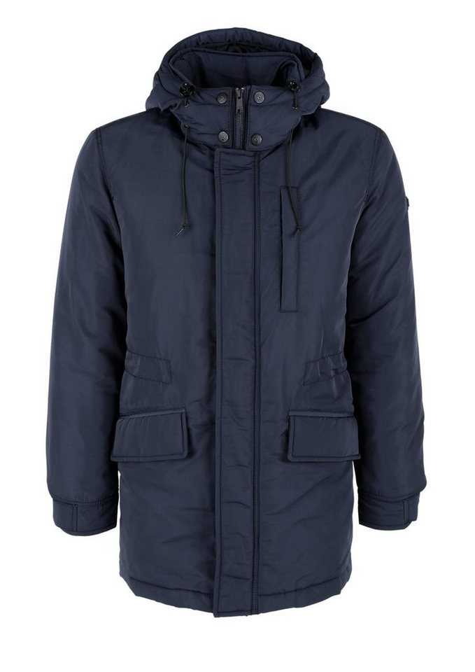 s.Oliver RED LABEL Warme Winterjacke mit Thermore in blue