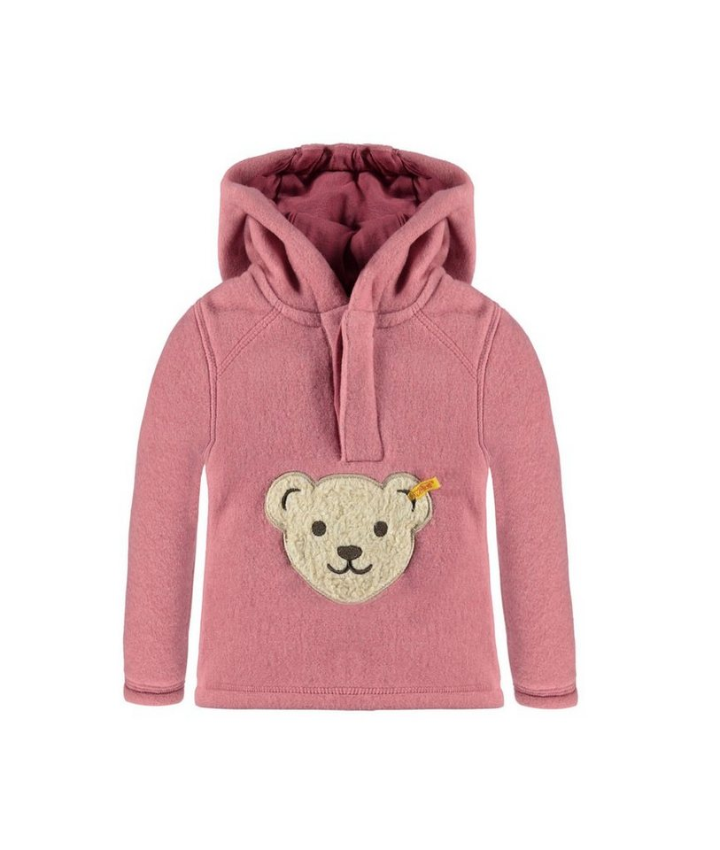 Steiff Collection Sweatshirt Fleece langärmlig 1 in Rosé