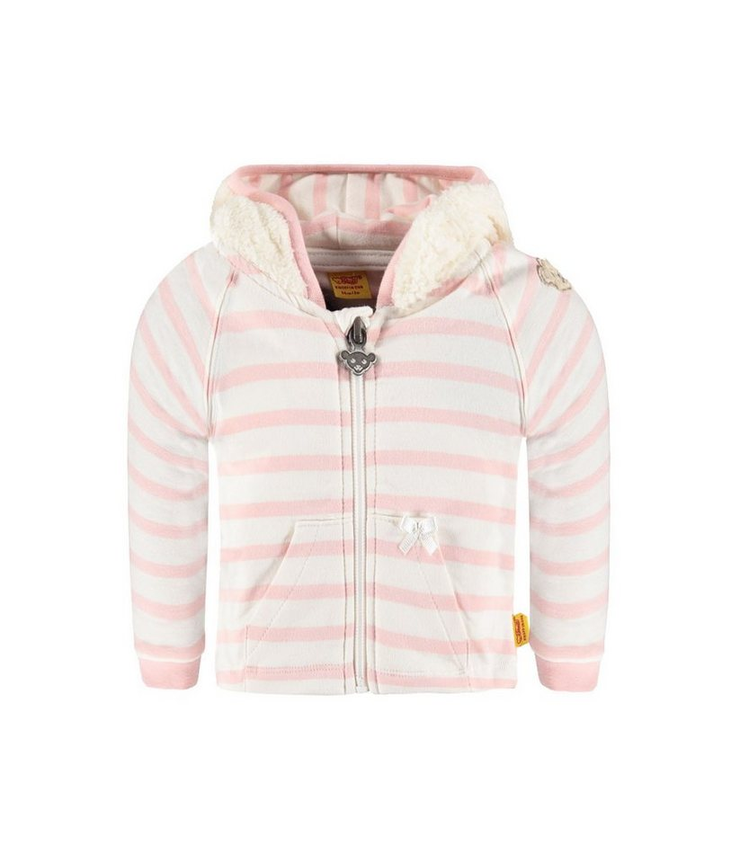 Steiff Collection Sweatjacke langärmlig 1 in Rosa