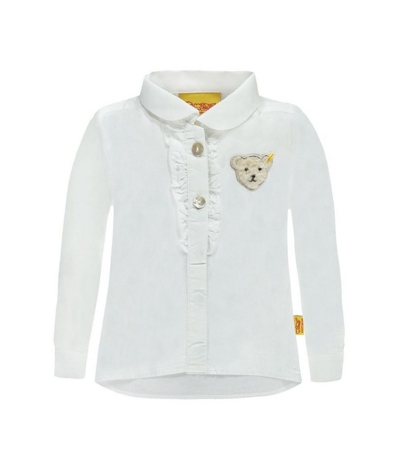 Steiff Collection Bluse langärmlig 1 in Weiß