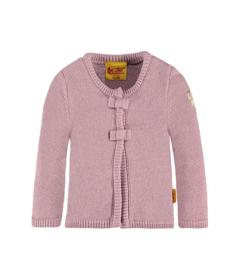 Steiff Collection Strickjacke langärmlig Kaschmiranteil 1 in Rosa