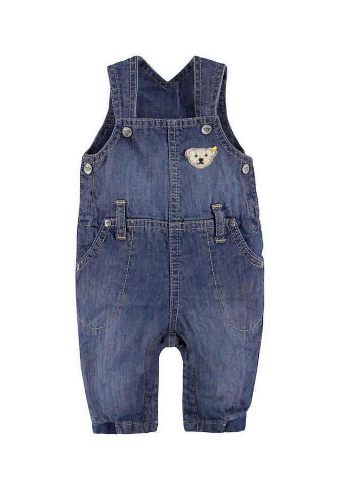 Steiff Collection Jumpsuit ärmellos Jeans 1 in Denimblau