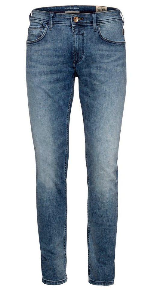 TOM TAILOR DENIM Jeans »Jeanshose mit leichter Waschung« in light stone wash den