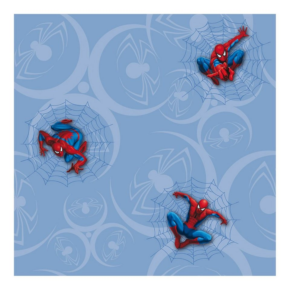 Decofun Tapete, Spider-Man in blau