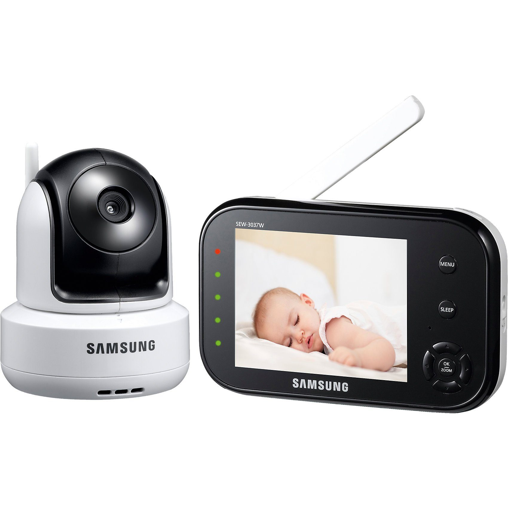 "Samsung 3.5"" LCD Video Babyphone SEW-3037"
