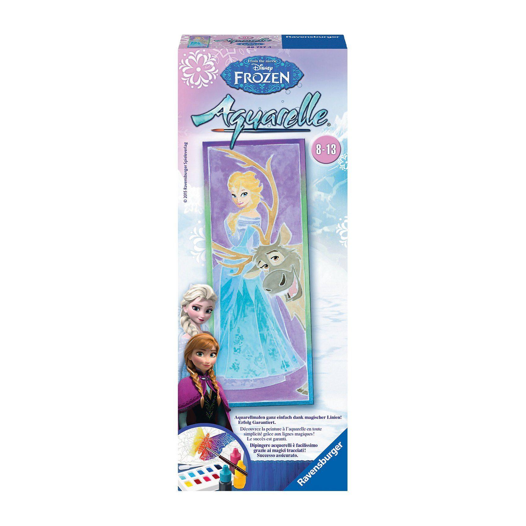 Ravensburger Aquarelle vertical Disney Die Eiskönigin: Elsa & Sven