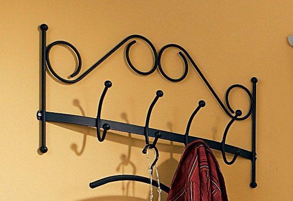 Home affaire, Garderobem aus Stahlrohr in schwarz