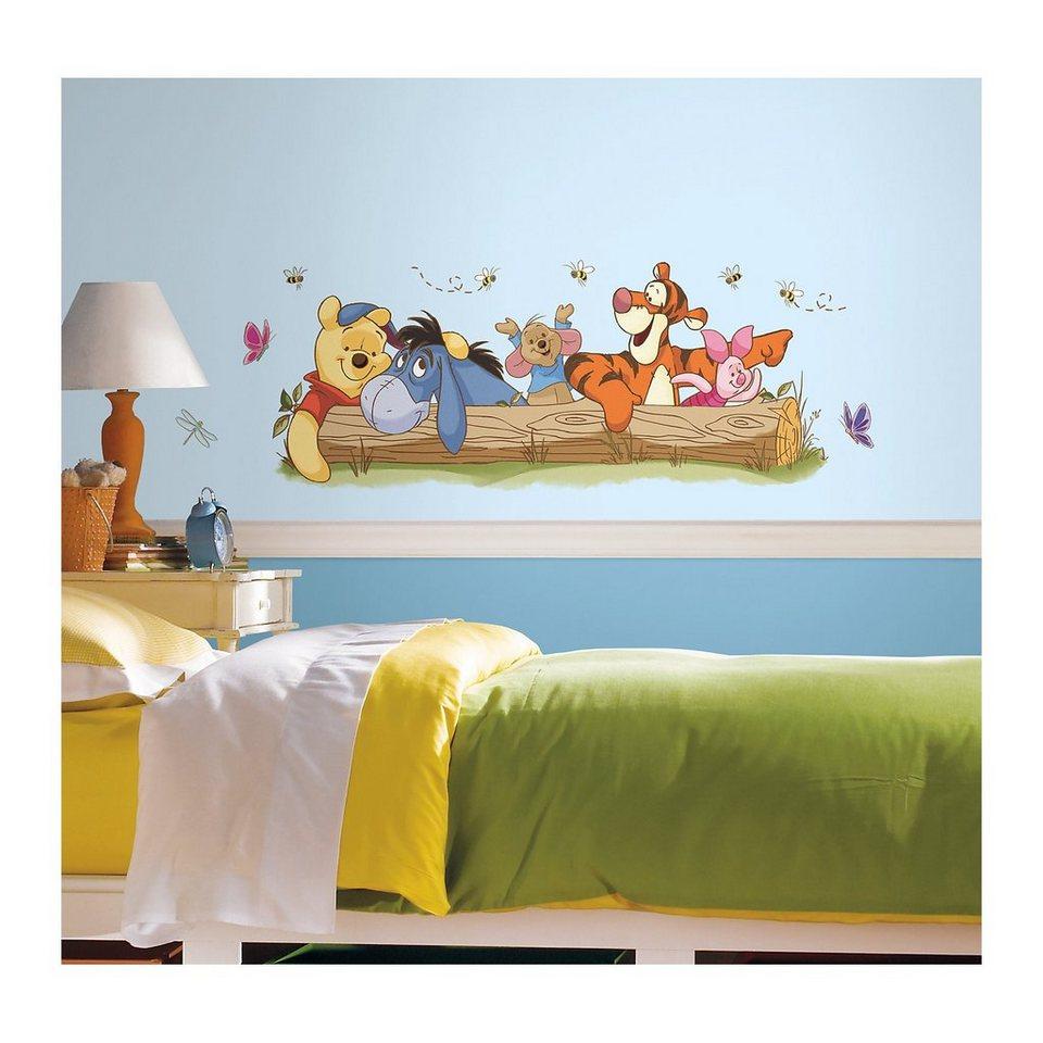 RoomMates Wandsticker Winnie the Pooh & Friends, 10-tlg.