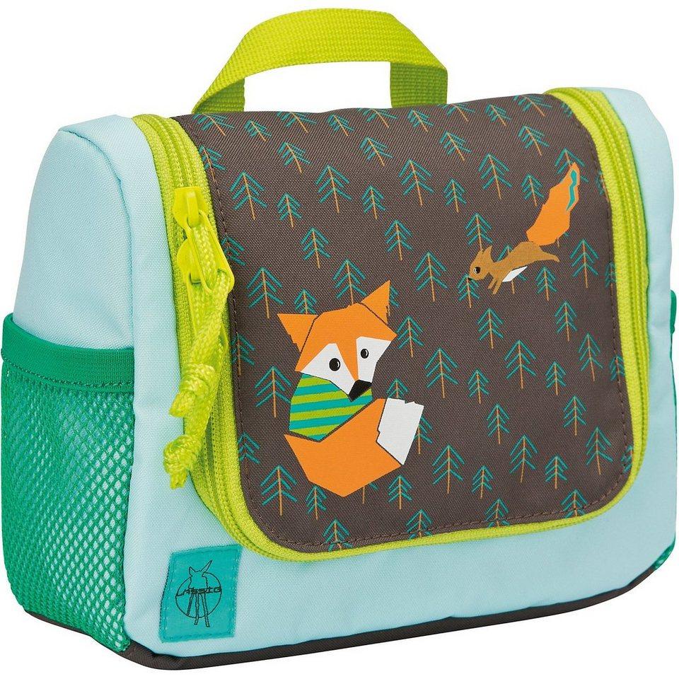 Lässig Kulturbeutel 4kids, Mini Washbag, Fox in mehrfarbig