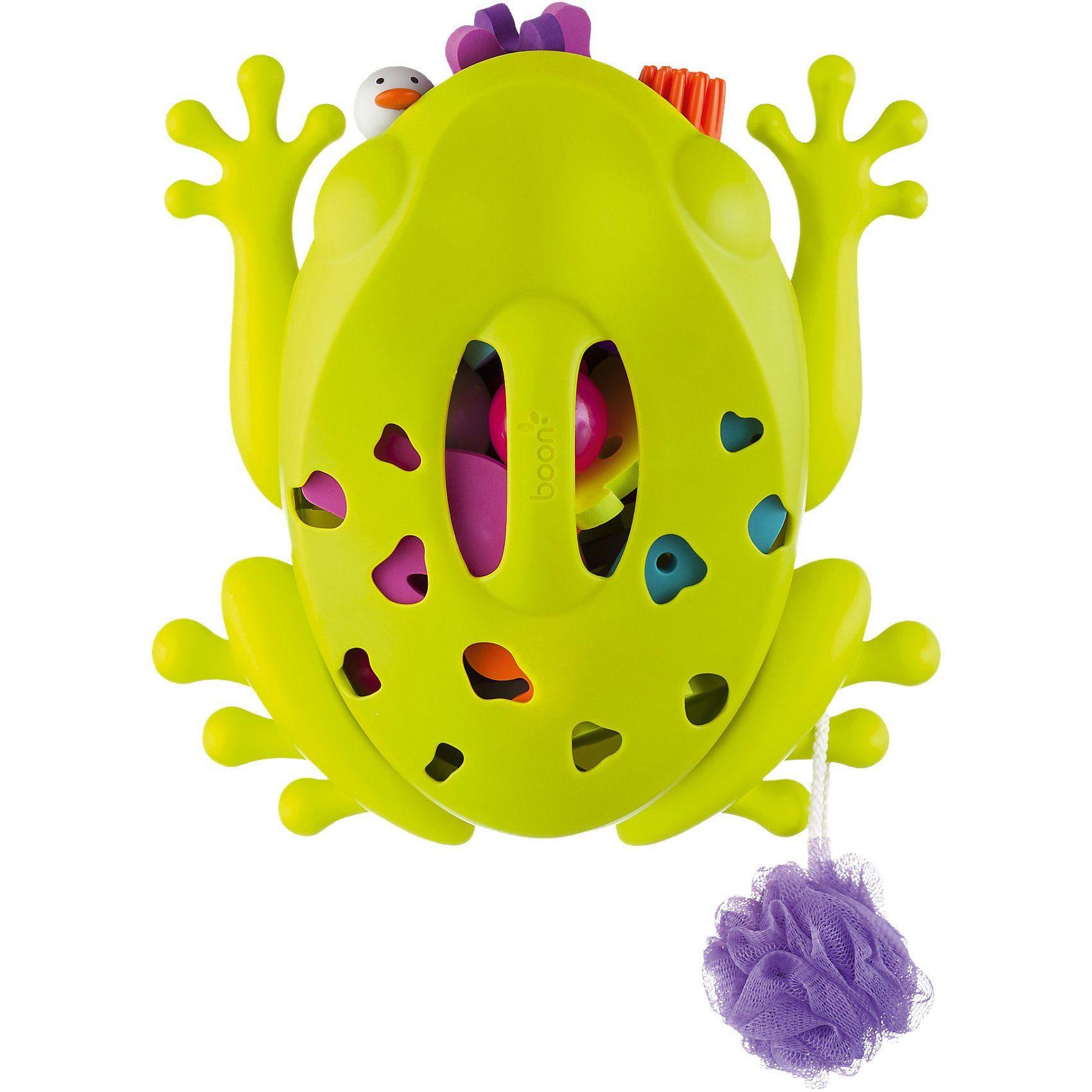boon Frog Pod Aufbewahrung für Badespielzeug, Frosch