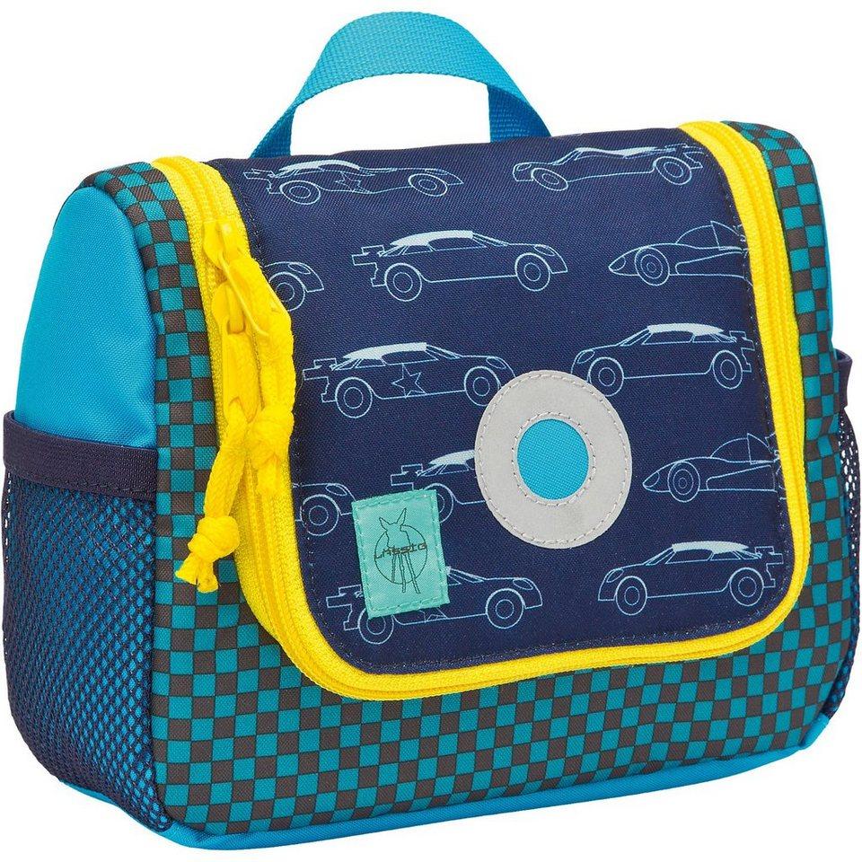Lässig Kulturbeutel 4kids, Mini Washbag, Cars navy in blau