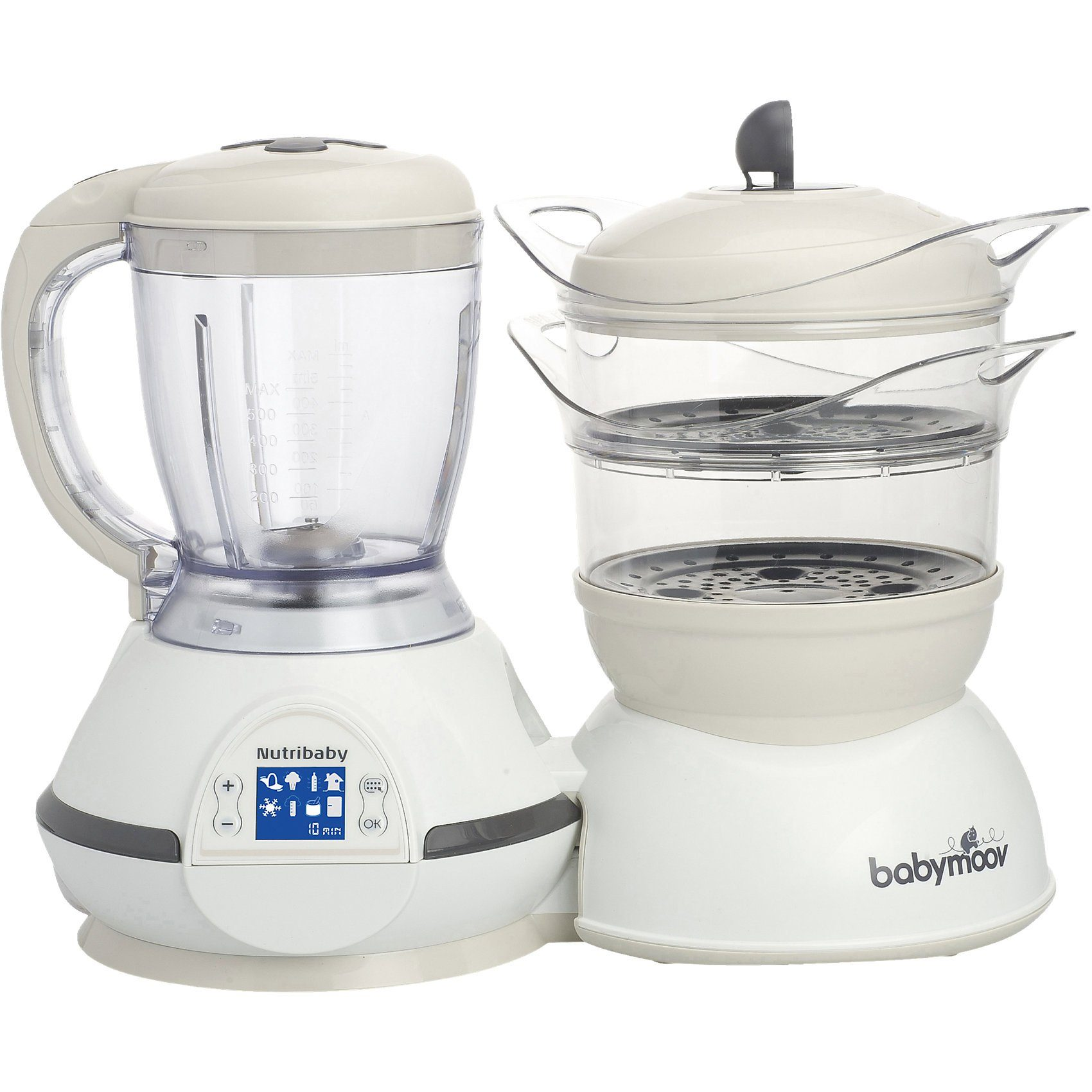 Babymoov Multifunktionsgerät Nutribaby 5 in 1, Cream