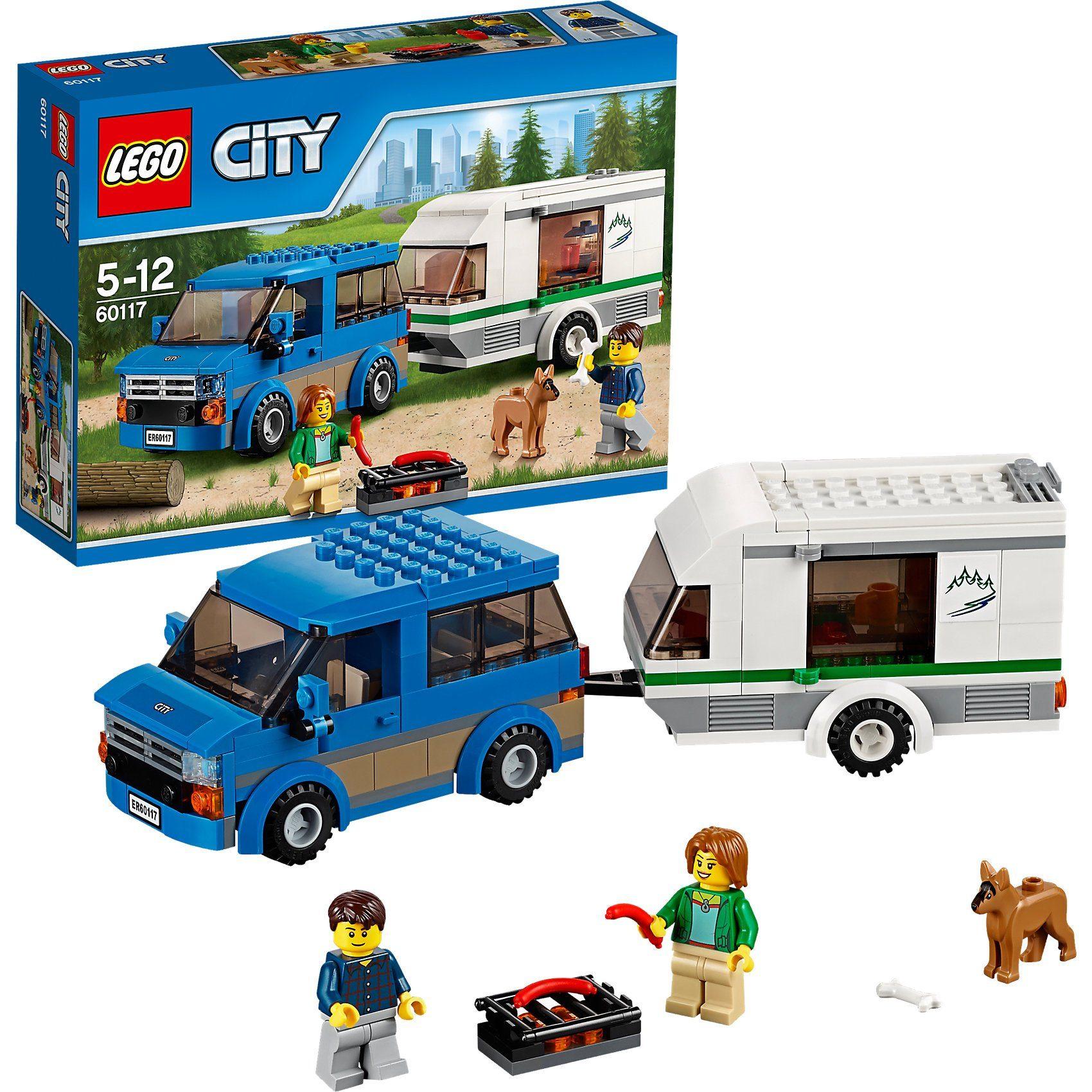 Lego® 60117 City Van & Wohnwagen