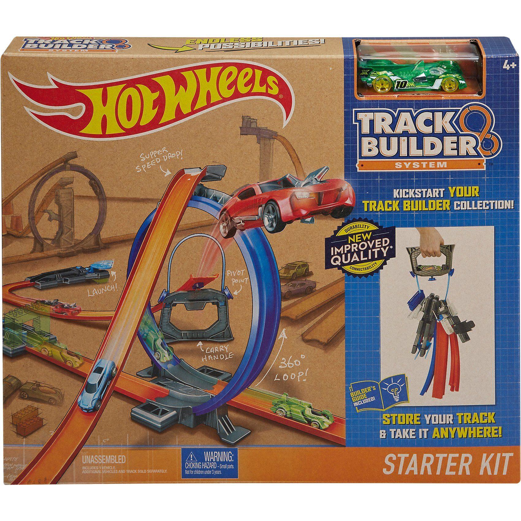 Mattel® Hot Wheels Track Builder Starter Set