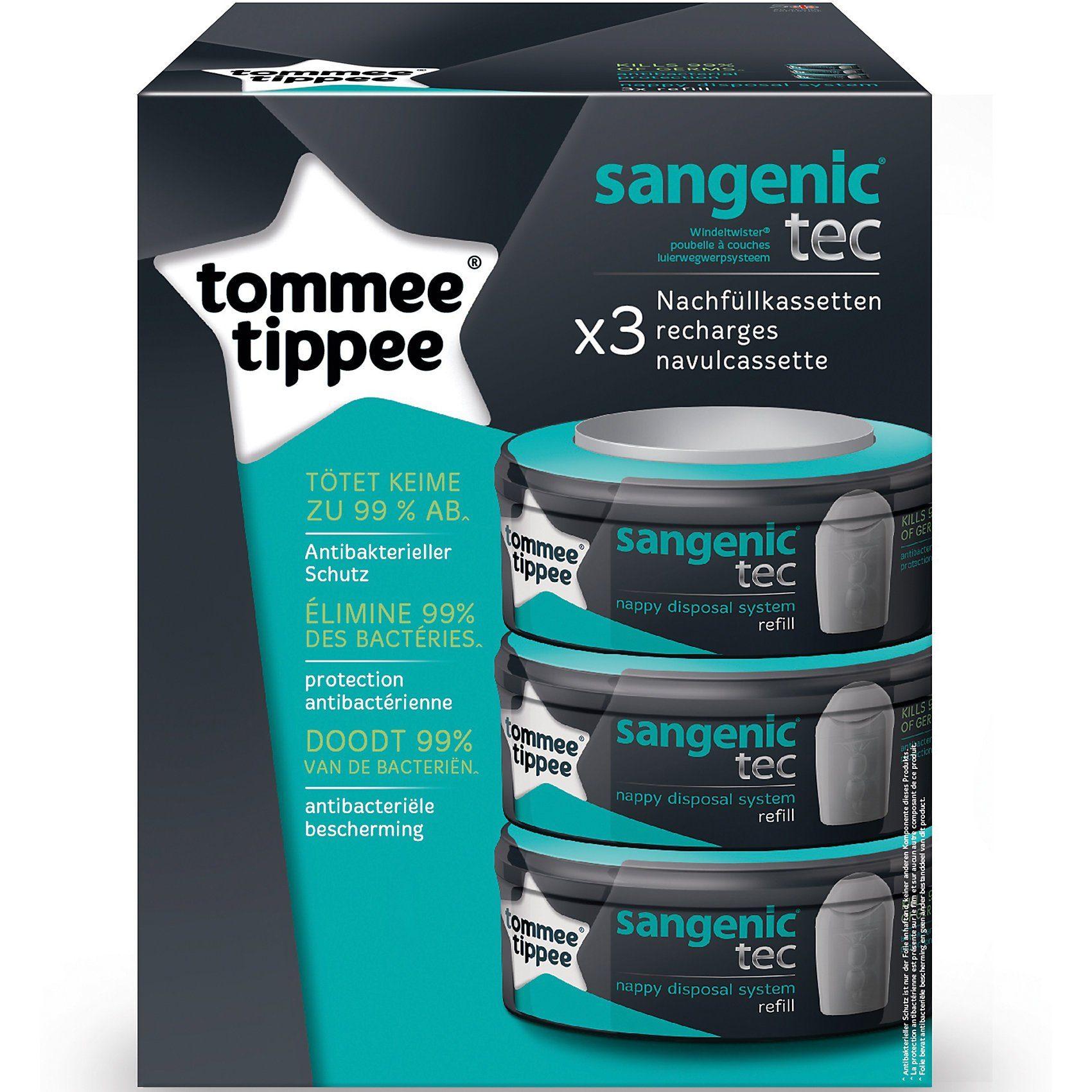 Tommee Tippee Sangenic tec Windeltwister 3er-Packung Nachfüllkassette