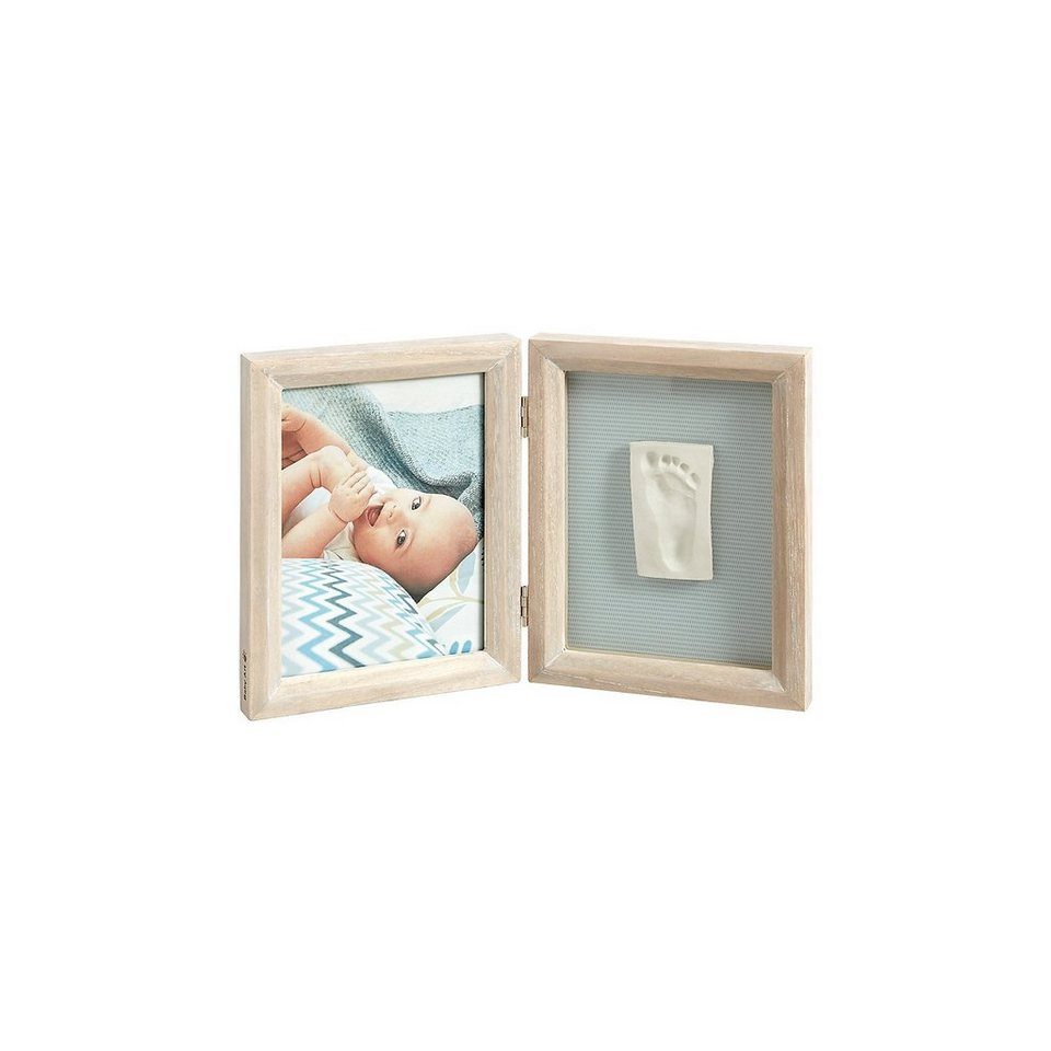 Baby Art Gipsabdruck Set mit 2-tlg. Bilderrahmen, stormy