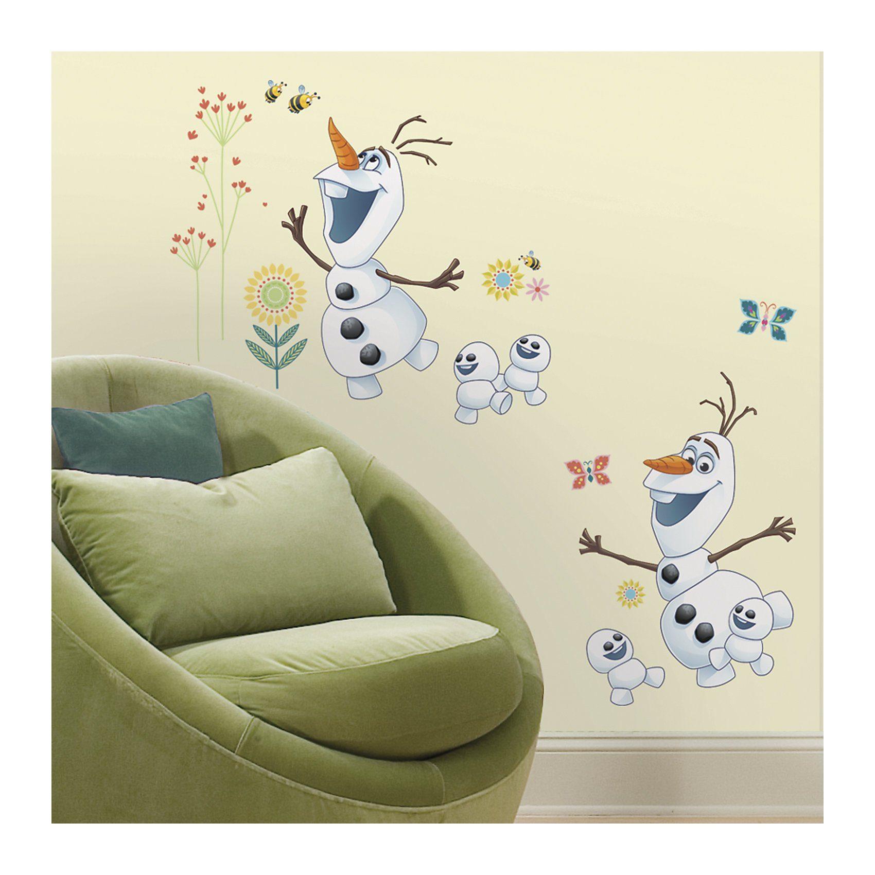 RoomMates Wandsticker Disney Die Eiskönigin, Olaf, 26-tlg.