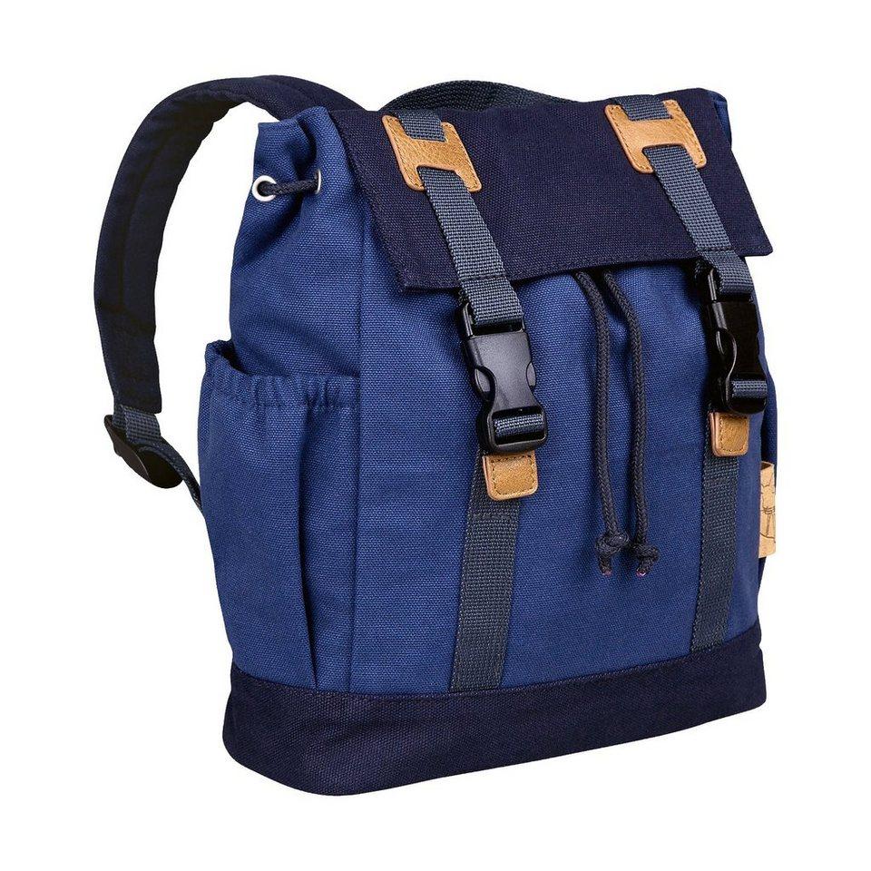 Lässig Wickelrucksack Little One & Me Backpack small, blue in blau