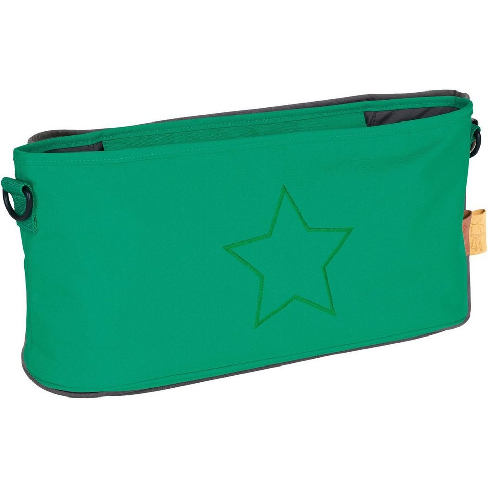Lässig Buggy Organizer, Star deep green in grün