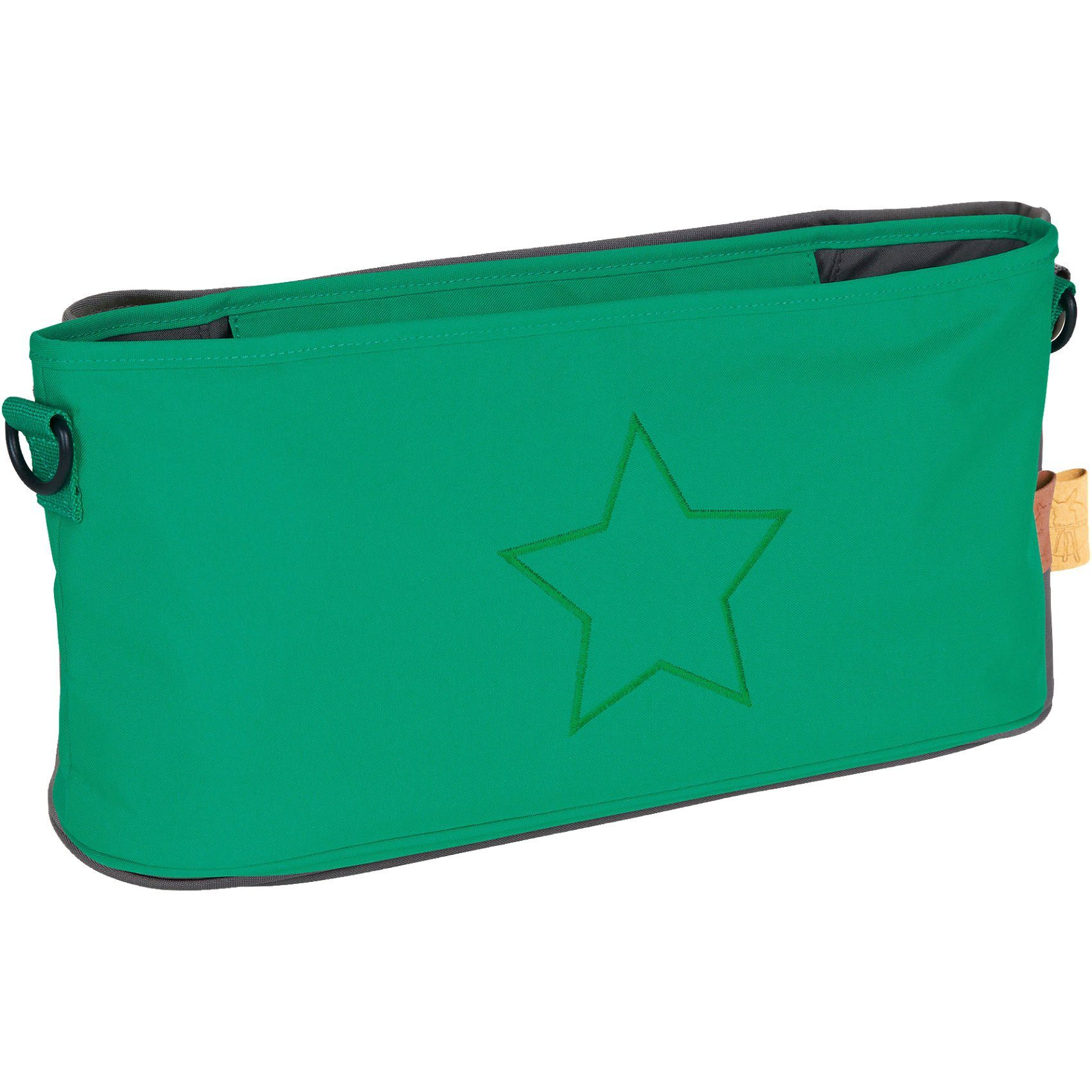 Lässig Buggy Organizer, Star deep green
