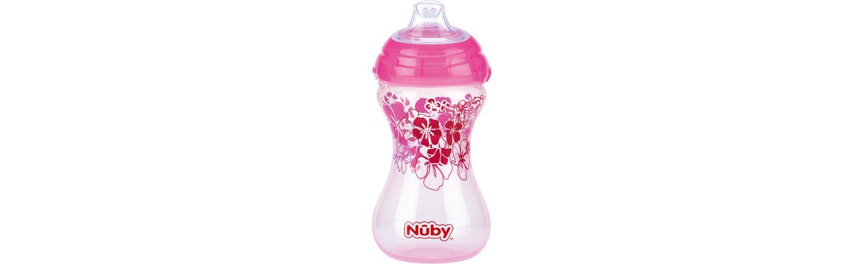 Nuby Trinkbecher Clik-It, 300 ml, pink