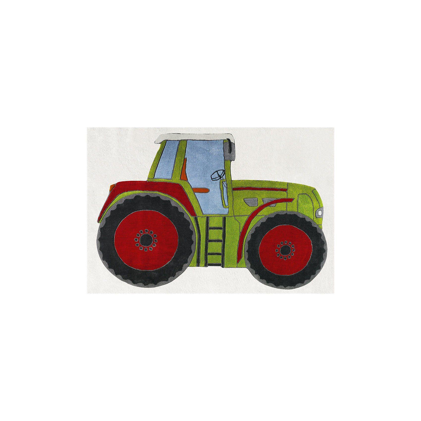 Happy Rugs Teppich, TRAKTOR, 120 x 180 cm