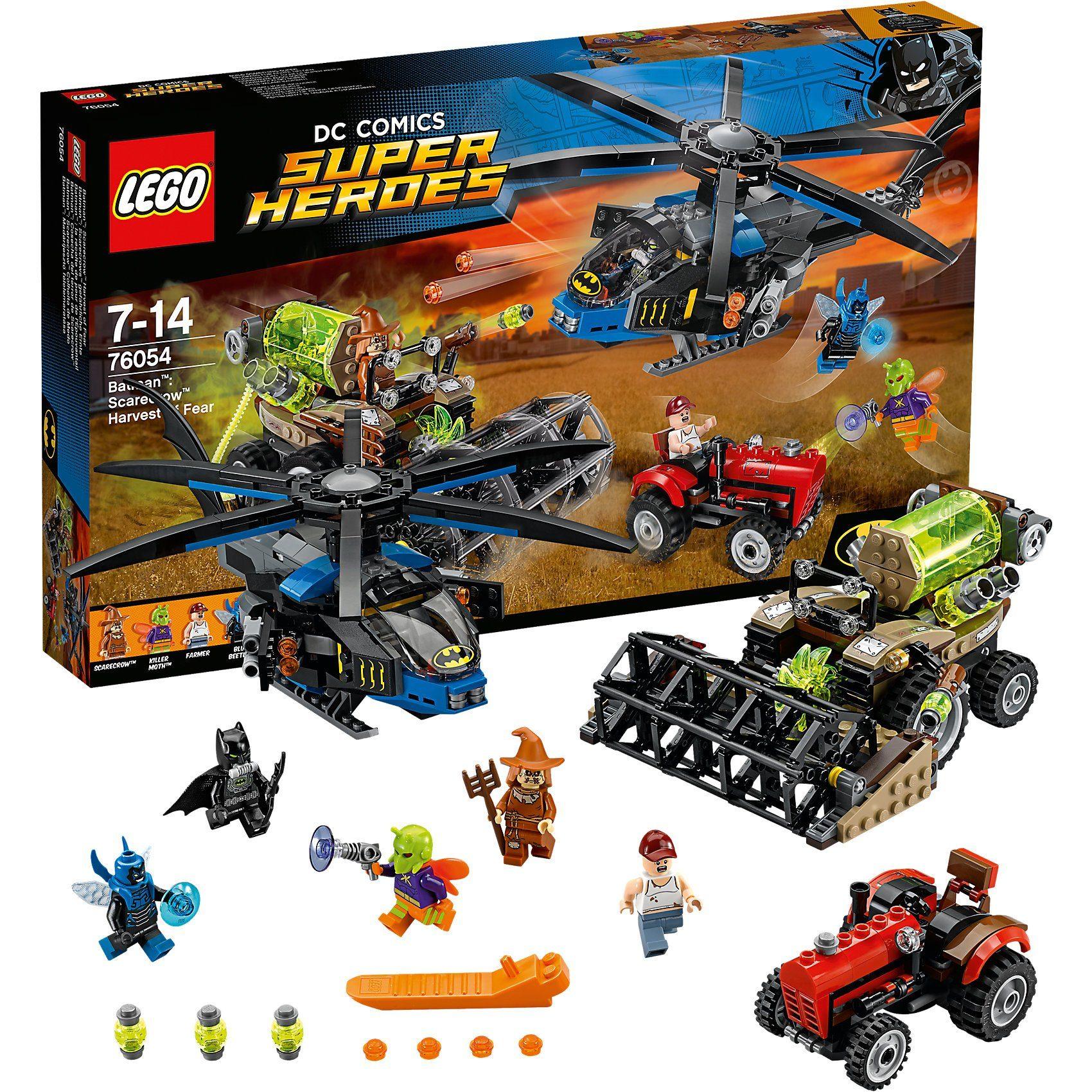 LEGO 76054 Super Heroes: Batman: Scarecrows gefährliche Ernte