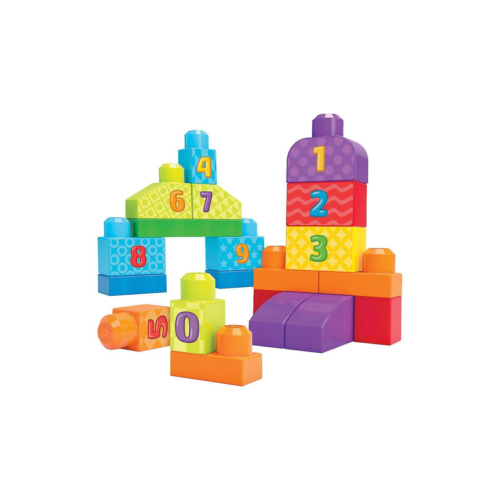 Mattel® Mega Bloks - 123 Bausteine Zählspaß
