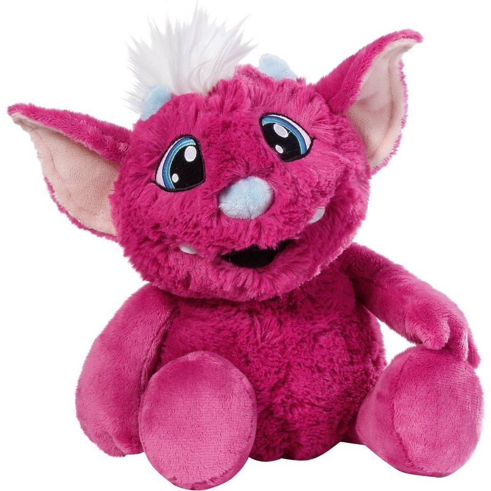 NICI Crazy Mic Sprechendes Plüsch-Monster pink, 35cm