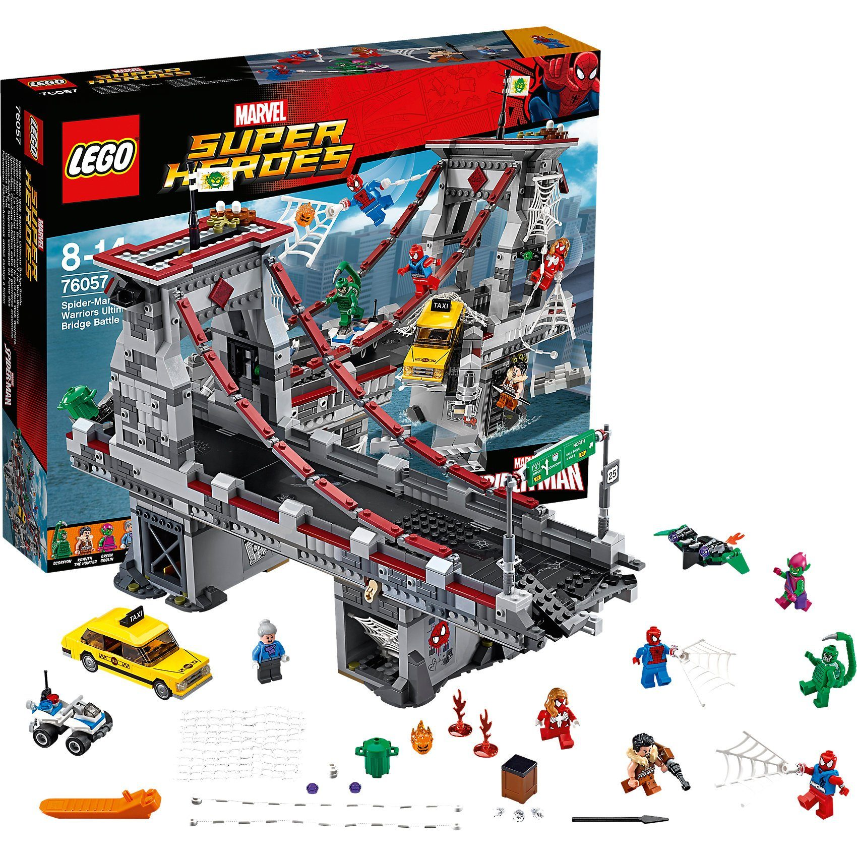 76057 Super Heroes: Spider-Man: Brückenduell