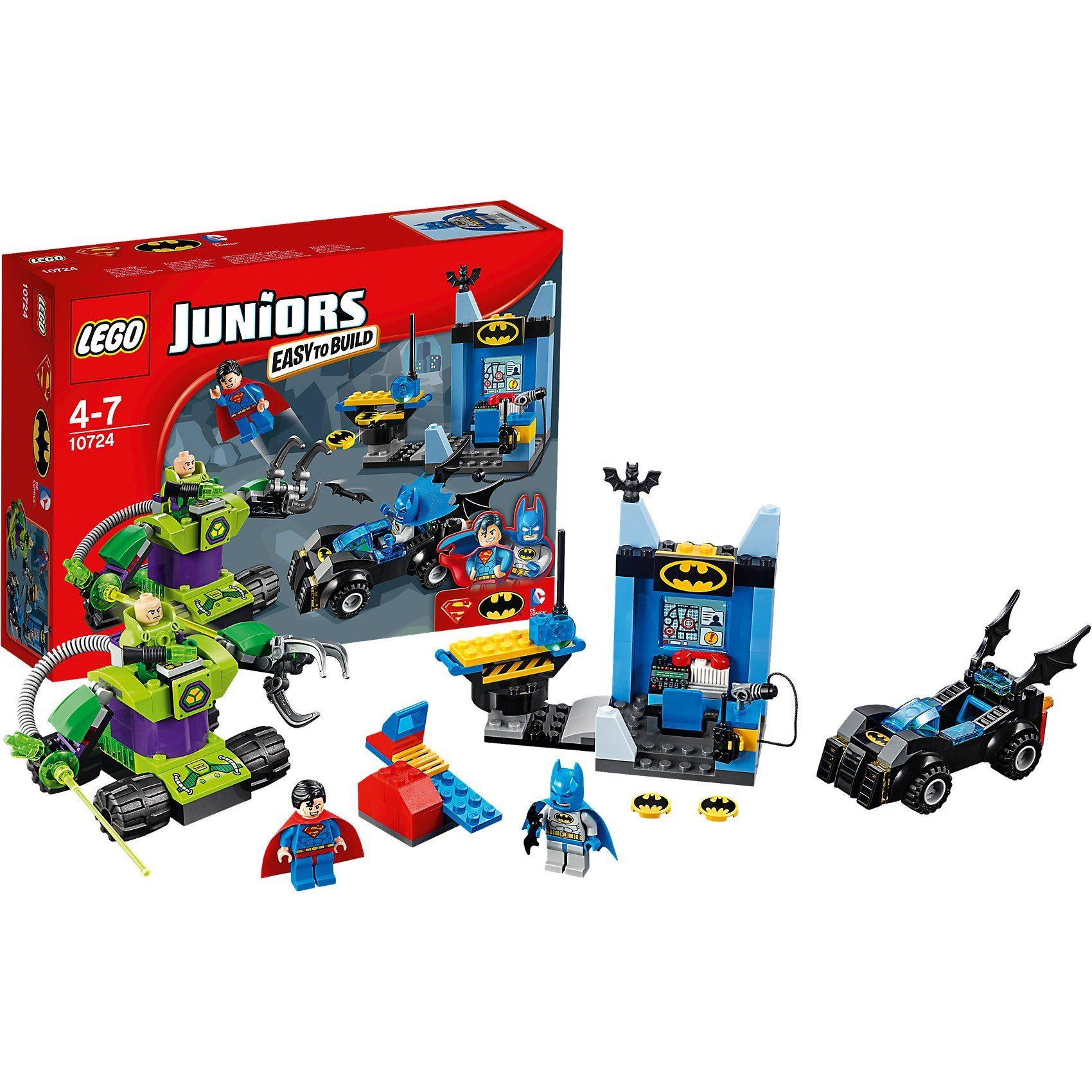 Lego® 10724 Juniors: Batman™ & Superman™ gegen Le..