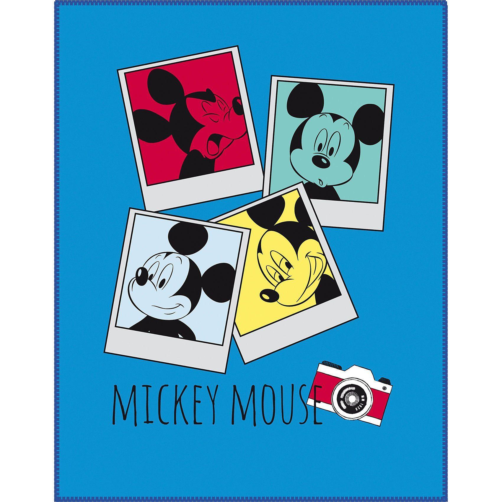 CTI Kuscheldecke Mickey Mouse, 110 x 140 cm